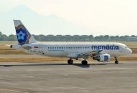 Photo: Mandala Airlines, Airbus A320, PK-RMC