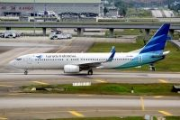 Photo: Garuda Indonesia, Boeing 737-800, PK-GNA
