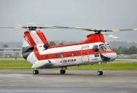 Photo: Helifor, Boeing-Vertol 107-II, C-GHFF