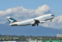 Photo: Cathay Pacific Airways, Boeing 747-400, B-HOV