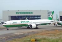 Photo: EVA Air, Boeing 777-300, B-16707