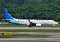 Photo: Garuda Indonesia, Boeing 737-800, PK-GMA