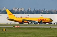 Photo: DHL, Boeing 767-200, N655GT