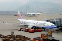 Photo: China Airlines, Boeing 737-800, B-18606