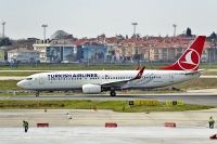 Photo: Turkish Airlines THY, Boeing 737-800, TC-JVE