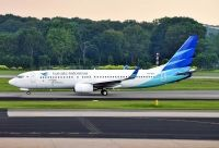 Photo: Garuda Indonesia, Boeing 737-800, PK-GFF
