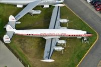 Photo: Trans Canada Airlines - TCA, Lockheed Constellation, CF-TGE