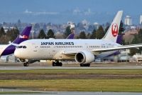 Photo: Japan Airlines - JAL, Boeing 787, JA827J