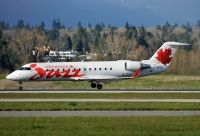 Photo: Air Canada Jazz, Canadair CRJ Regional Jet, C-FWRS