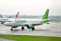 Photo: Citilink, Airbus A320, PK-GLU
