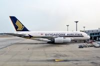 Photo: Singapore Airlines, Airbus A380, 9V-SKK