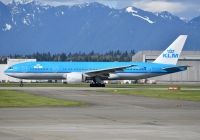 Photo: KLM - Royal Dutch Airlines, Boeing 777-200, PH-BQE