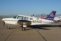 Photo: Mesa Pilot Development, Piper PA-28 Warrior, N240D