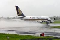 Photo: Singapore Airlines Cargo, Boeing 747-400, 9V-SFK