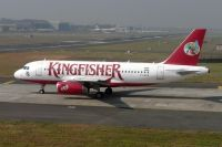 Photo: Kingfisher Airlines, Airbus A319, VT-KFH