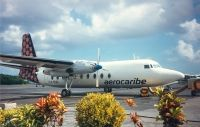 Photo: Aerocaribe, Fairchild F27, XA-RUK