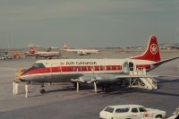 Photo: Air Canada, Vickers Viscount 700, CF-THC