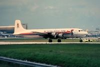 Photo: Cayman Airways, Douglas DC-6, N61267