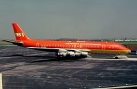 Photo: Braniff International Airlines, Douglas DC-8-50, N814BN