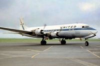 Photo: United Airlines, Douglas DC-6, N37583