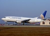 Photo: Continental Airlines, Boeing 737-300, N76355