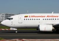 Photo: Lithuanian Airlines, Boeing 737-500, LY-AZW