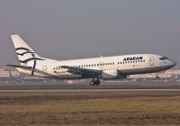 Photo: Aegean Airlines, Boeing 737-300, SX-BGY