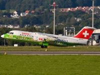 Photo: Swiss, British Aerospace RJ-100, HB-IYS