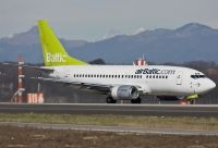 Photo: Air Baltic, Boeing 737-500, YL-BBG