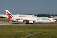 Photo: SriLankan Airlines (Air Lanka), Airbus A340-200/300, 4R-ADC