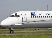 Photo: Blue Line, McDonnell Douglas MD-80, F-GMLI