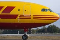 Photo: DHL, Airbus A300, OO-DLT