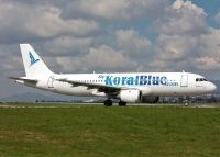 Photo: Koral Blue, Airbus A320, SU-KBA