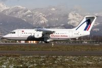 Photo: Albanian Airlines, British Aerospace BAe 146-200, ZA-MAL