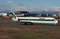 Photo: Alitalia, McDonnell Douglas MD-80, I-DACZ
