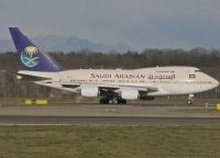 Photo: Saudi Arabian Royal Flight, Boeing 747SP, HZ-AIJ