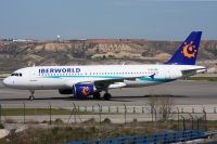 Photo: Iberworld Airlines, Airbus A320, EC-INZ