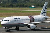 Photo: Aegean Airlines, Airbus A320, SX-DVV