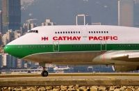 Photo: Cathay Pacific Airways, Boeing 747-400, B-HOX