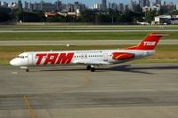 Photo: TAM, Fokker F100, PT-MQF