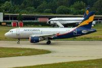 Photo: Donavia Airlines, Airbus A319, VP-BQK