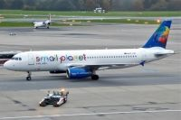 Photo: Small Planet Airlines, Airbus A320, SP-HAC