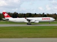 Photo: Swiss International Air Lines, Airbus A340-200/300, HB-JMJ