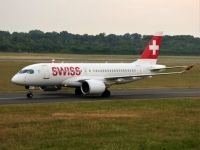 Photo: Swiss, Bombardier CSeries, HB-JBC