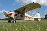 Photo: Privately owned, Piper PA-16 Clipper, G-BSVI