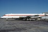 Photo: Plymouth LSG, Douglas DC-8-21, N8038U