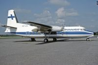 Photo: Finnair, Fokker F27 Friendship, OH-LKC