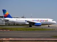 Photo: Small Planet Airlines, Airbus A320, LY-SPA