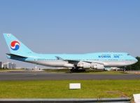 Photo: Korean Air, Boeing 747-400, HL7493