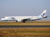 Photo: Flybe - British European, Embraer EMB-195, G-FBED